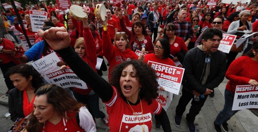 Mujeres sindicalistas en USA.