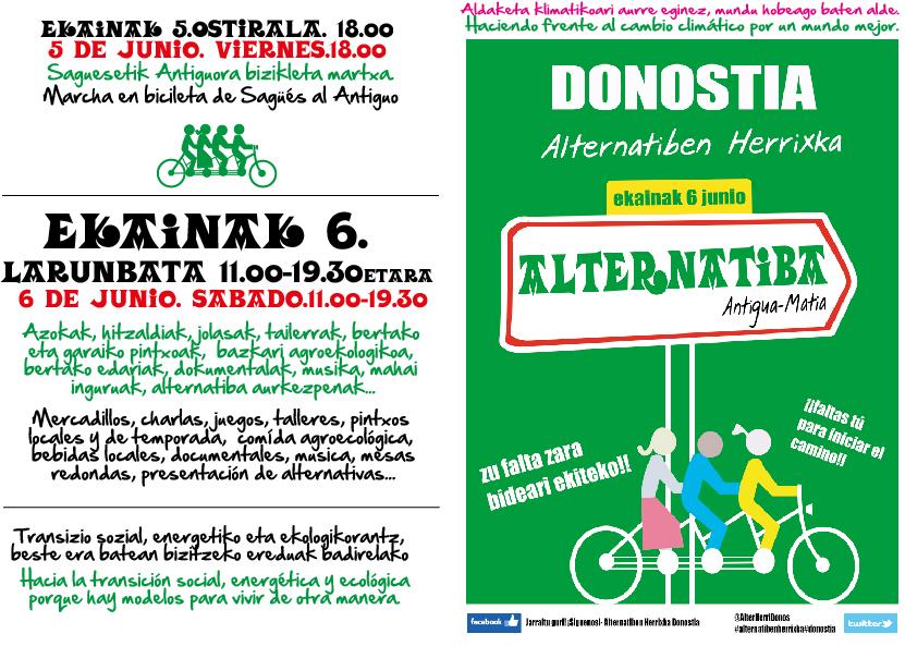Alternatiben Herrixka Donostia eskuorria