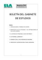 Boletin Gabinete Estudios 43