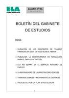 Boletin del Gabinete de Estudios 46