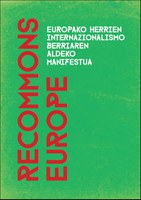 ReCommons Europe: Europako herrien internazionalismo berriaren aldeko manifestua