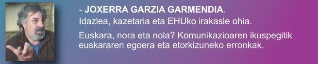 Joxerra Garzia