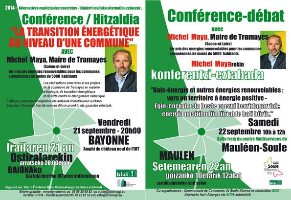 Michel Maya hitzaldiak